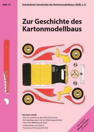 Titelbild Heft 15 der Berichte zum Kartonmodellbau