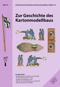 Titelbild Heft 16 der Berichte zum Kartonmodellbau