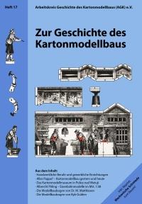 title of issue 17 of Berichte zum Kartonmodellbau